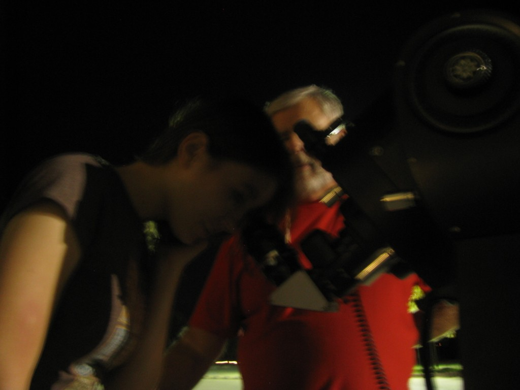 20120921 Katie IOMN 2012 with Texas Astronomy